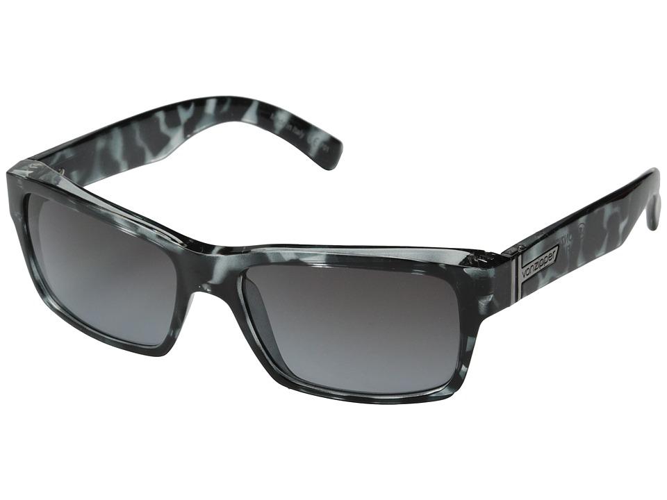 VonZipper - Fulton (Shadow Tortoise/Grey Gradient) Plastic Frame Sport Sunglasses