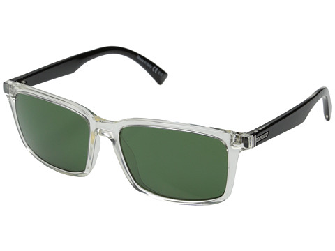 VonZipper - Pinch (Crystal Black/Green) Sport Sunglasses