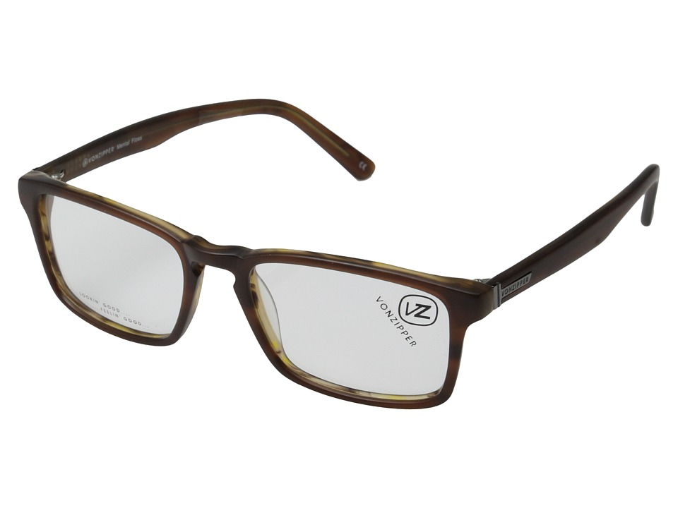 VonZipper - Mental Floss Reader (Demi Tortoise) Sport Sunglasses