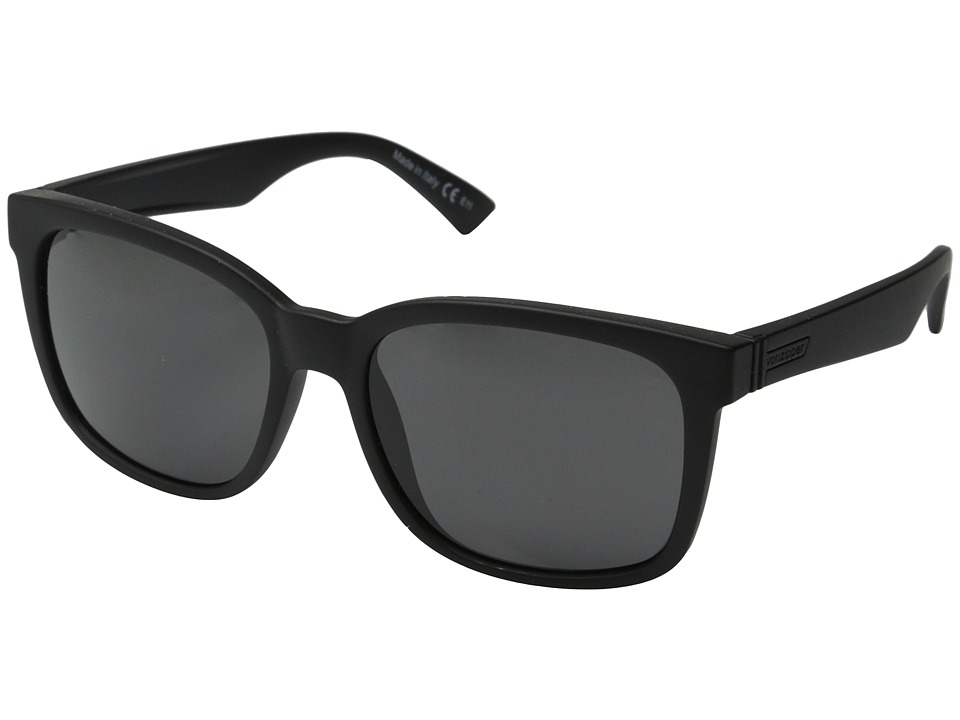 VonZipper - Howl (Black Satin/Grey) Fashion Sunglasses