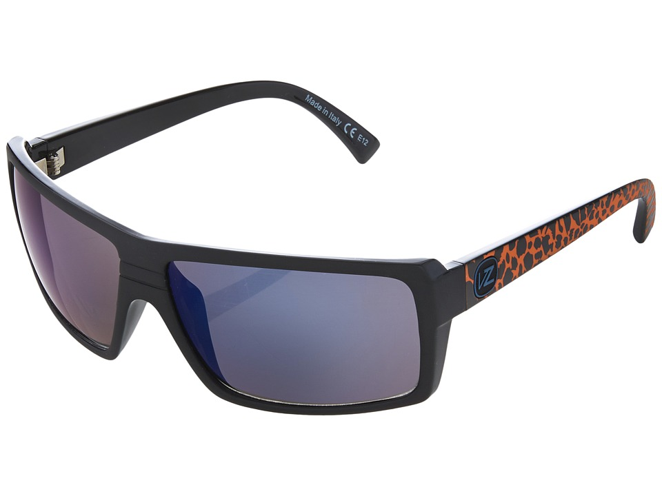 VonZipper - Snark (Party Animals Orange/Astro Glo) Plastic Frame Sport Sunglasses