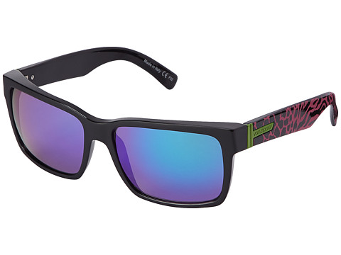 VonZipper - Elmore (Party Animals Pink/Quasar Glo) Sport Sunglasses
