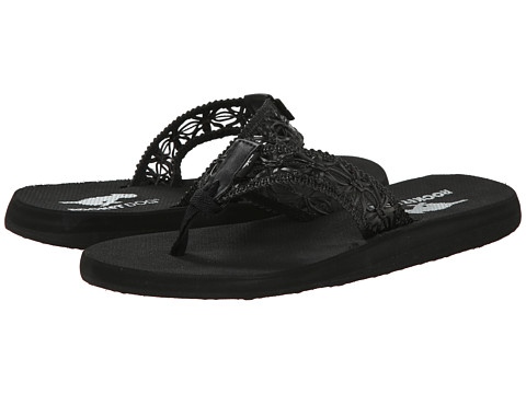 Rocket Dog - Nacho (Black Island Petal) Women's Sandals