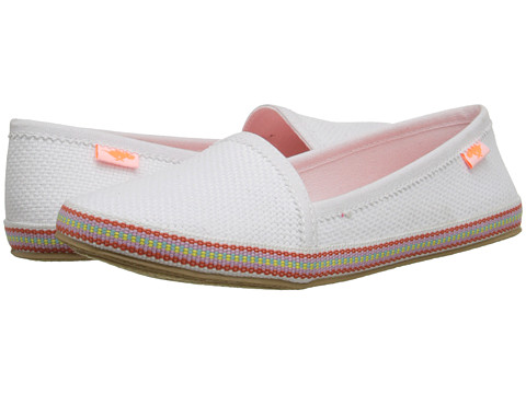 Rocket Dog - Wavey (White Hampton) Women's Slip on Shoes