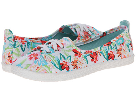 Rocket Dog - Penny (White Hawaii Dream) Women's Lace up casual Shoes