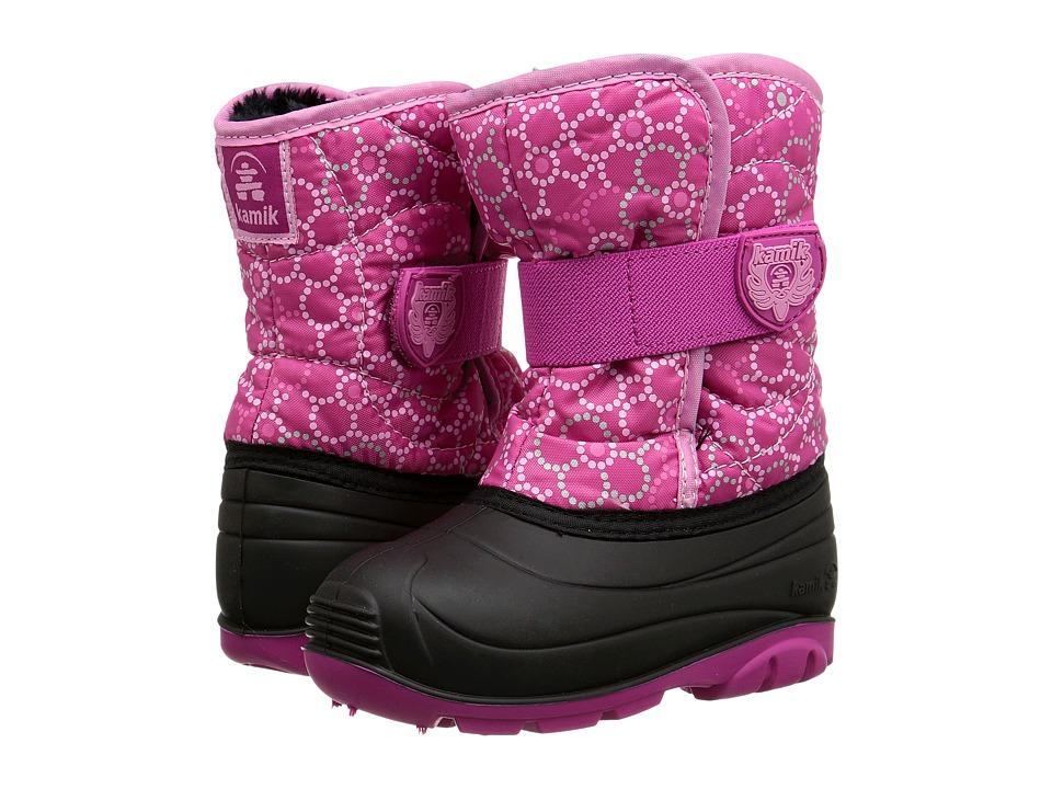 Kamik Kids - Snowbug4 (Toddler) (Magenta/Pink) Girls Shoes