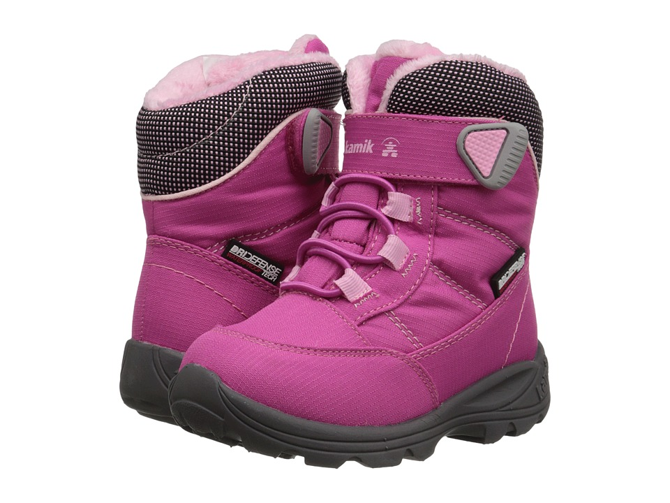 Kamik Kids - Stance (Toddler/Little Kid) (Magenta) Girls Shoes
