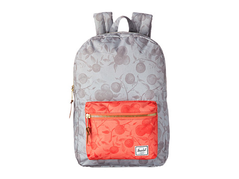 Herschel Supply Co. - Settlement Mid-Volume (Grey Orchard/Red Orchard) Backpack Bags