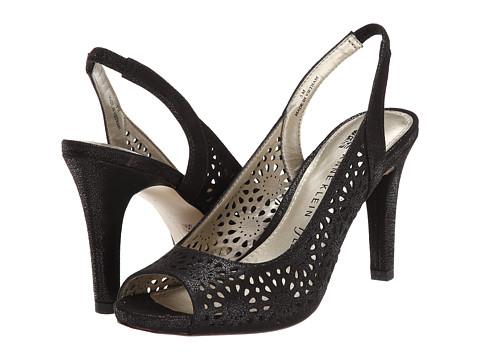 Anne Klein - AKOdea (Black Poppy Fabric) High Heels