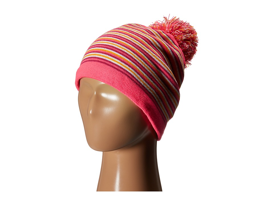 Spyder Kids - Stripe Hat (Big Kids) (Bryte Bubblegum/Multi) Cold Weather Hats