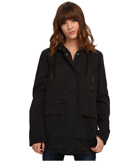 Volcom - Stand Up Jacket (Black) Women's Coat