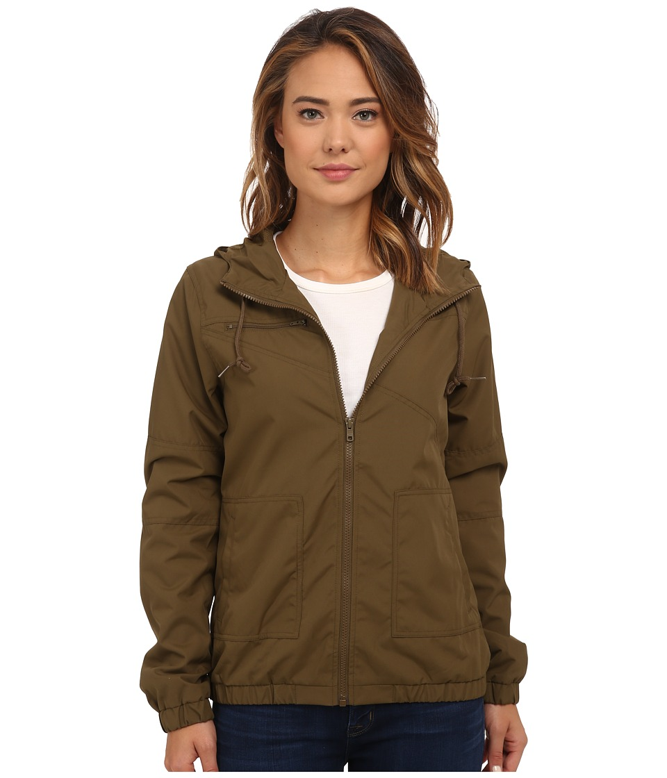 Volcom - Enemy Stone Jacket (Lentil Green) Women's Coat