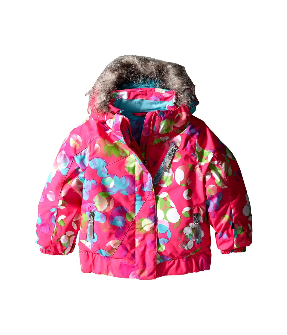 Spyder Kids - Bitsy Lola Jacket (Toddler/Little Kids/Big Kids) (Bryte Bubblegum Focus/Shatter) Girl's Coat