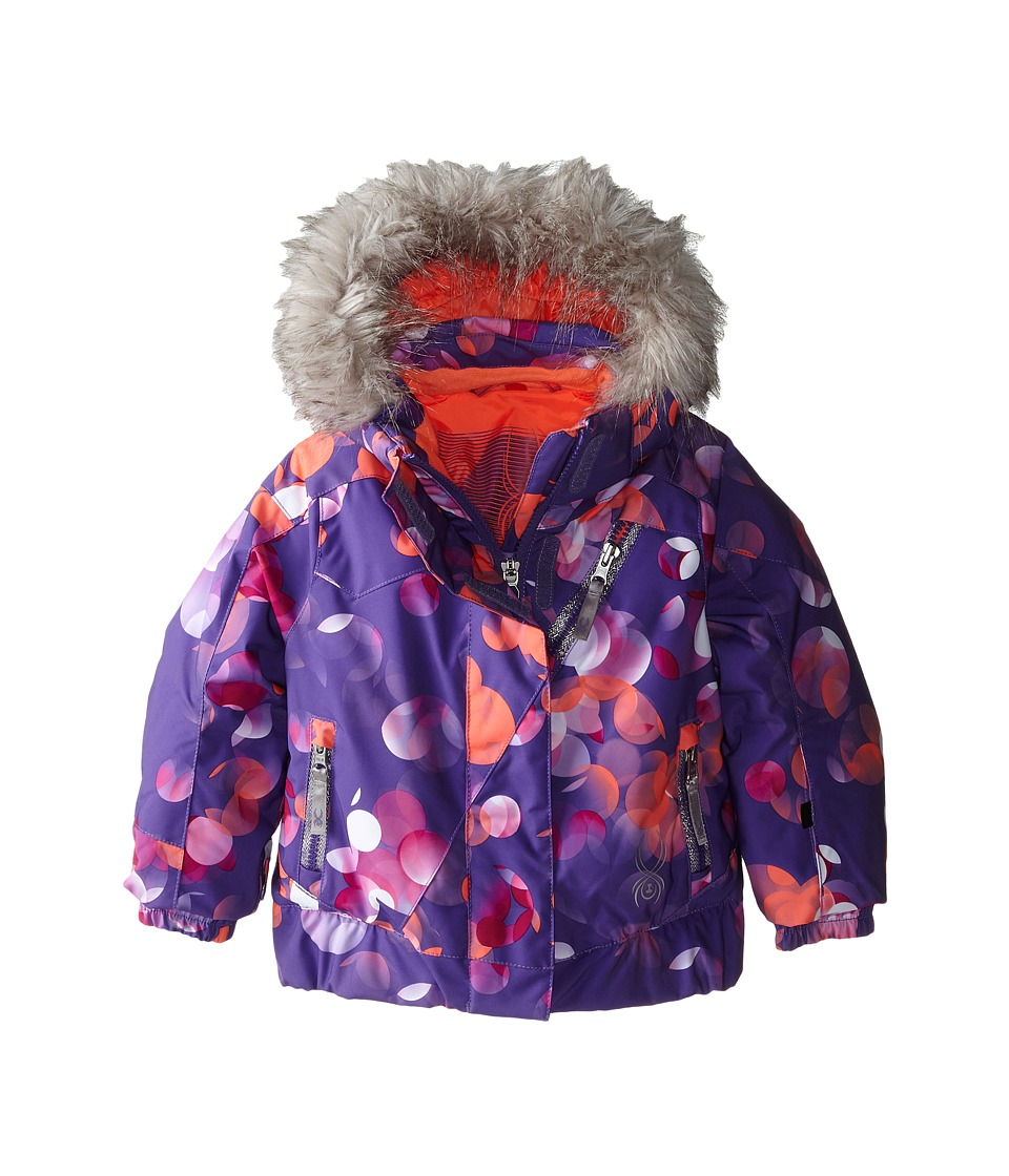 Spyder Kids - Bitsy Lola Jacket (Toddler/Little Kids/Big Kids) (Iris Focus/Iris) Girl's Coat