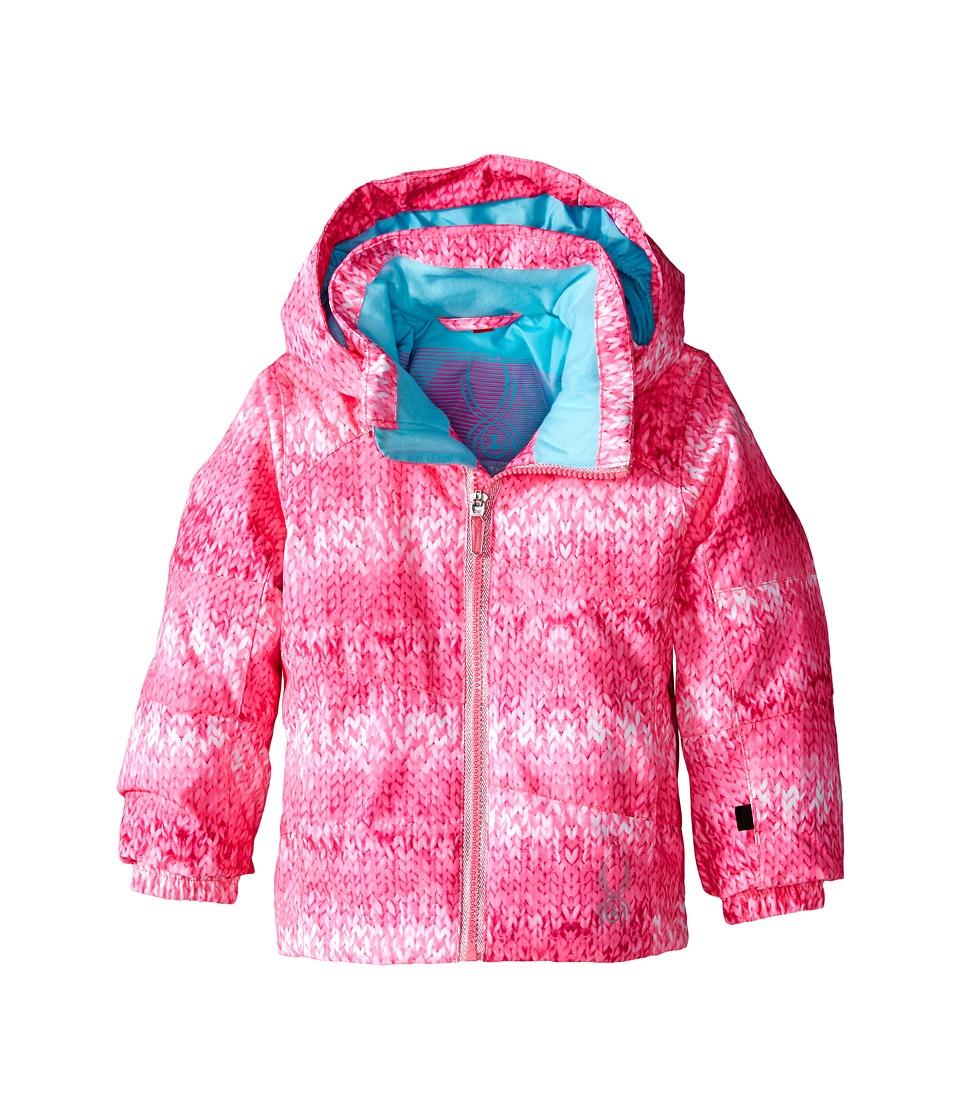 Spyder Kids - Bitsy Glam Jacket (Toddler/Little Kids/Big Kids) (Bryte Bubblegum Multi-Loop/Shatter) Girl's Coat