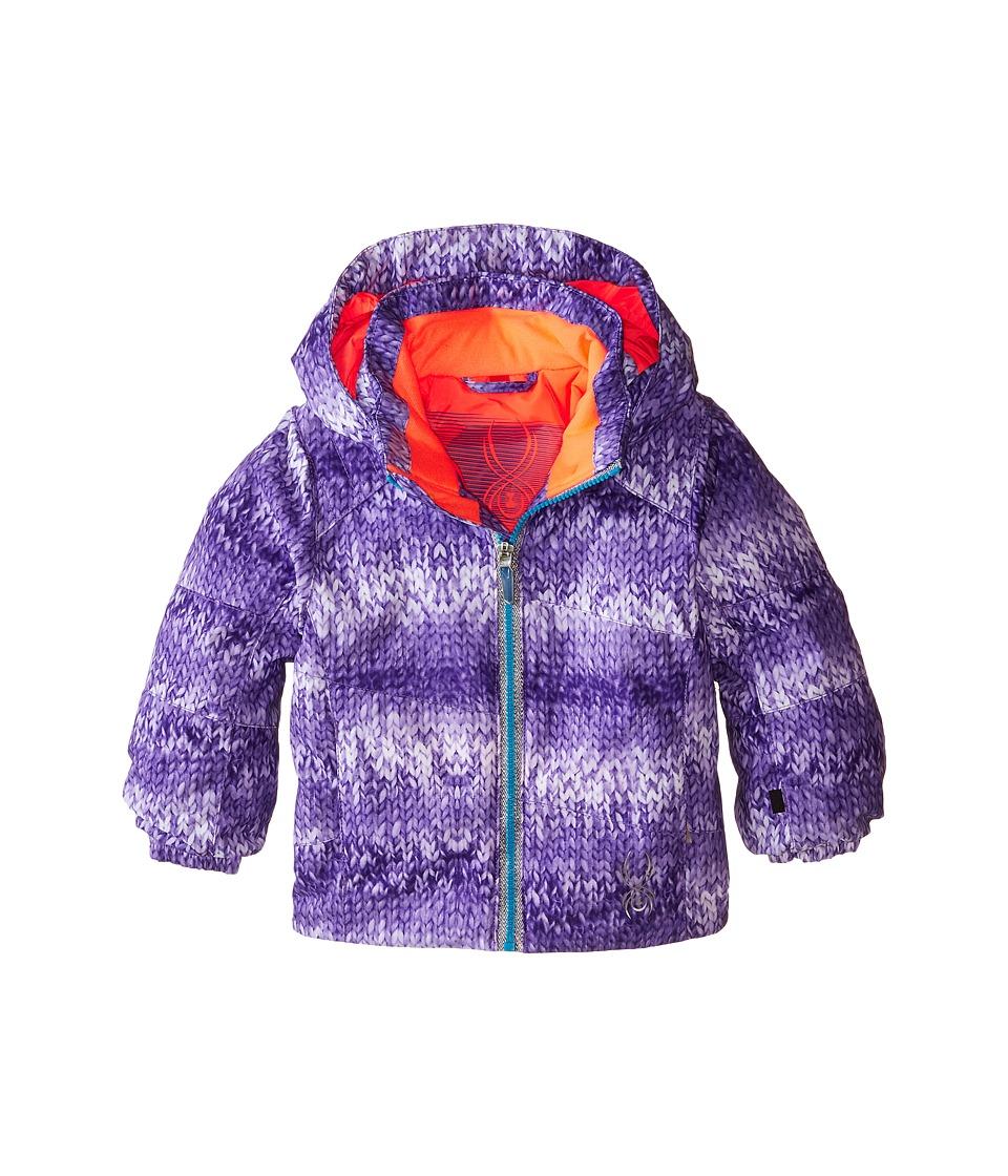 Spyder Kids - Bitsy Glam Jacket (Toddler/Little Kids/Big Kids) (Iris Multi-Loop/Bryte Starfish) Girl's Coat