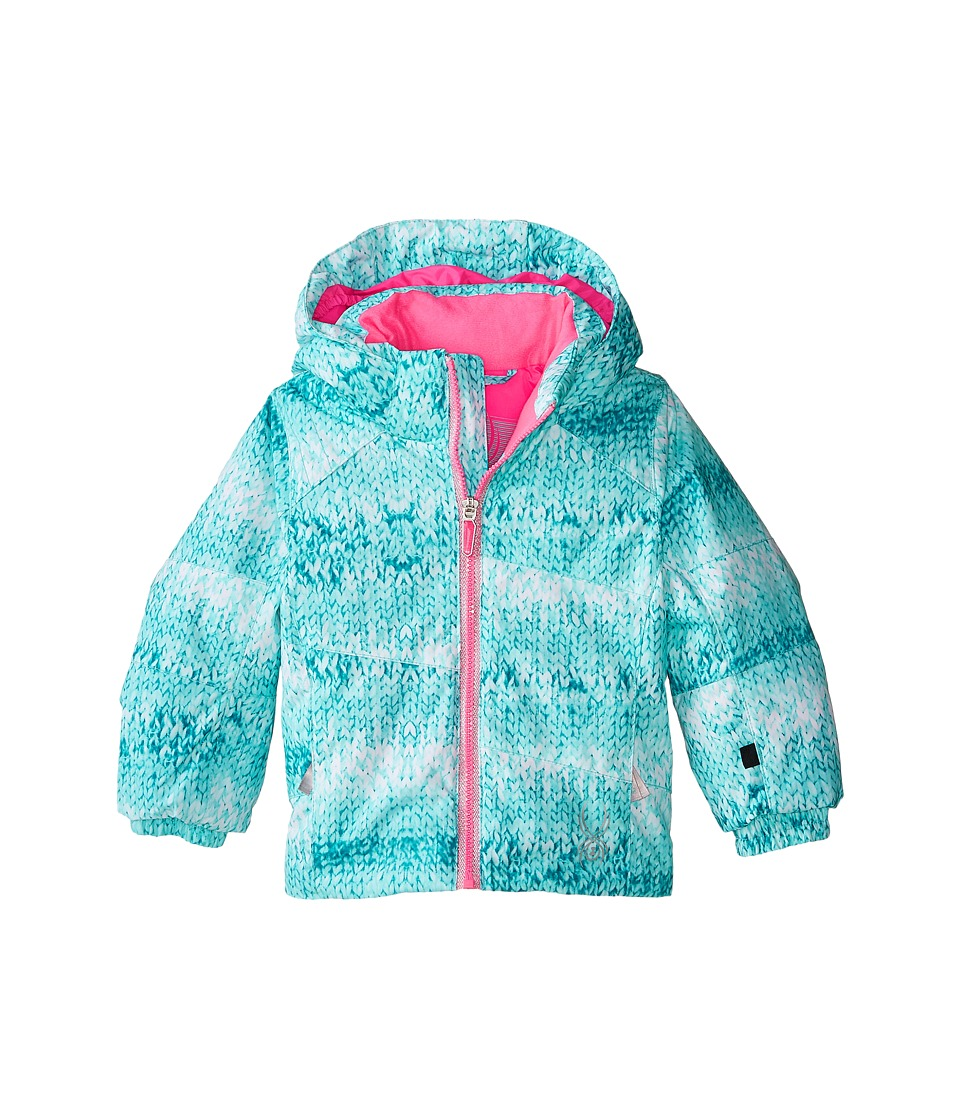 Spyder Kids - Bitsy Glam Jacket (Toddler/Little Kids/Big Kids) (Shatter Multi-Loop/Bryte Bubblegum) Girl's Coat