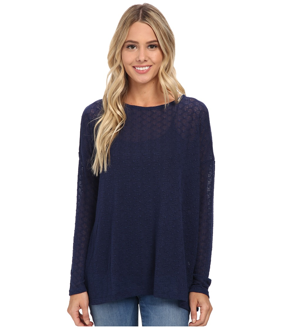 Volcom - Free To Go Crew (Midnight Blue) Women's Long Sleeve Pullover