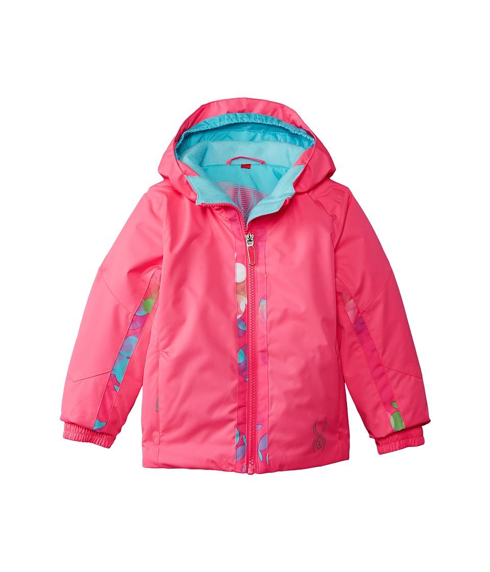 Spyder Kids - Bitsy Charm Jacket (Toddler/Little Kids/Big Kids) (Bryte Bubblegum/Bryte Bubblegum Focus) Girl's Coat