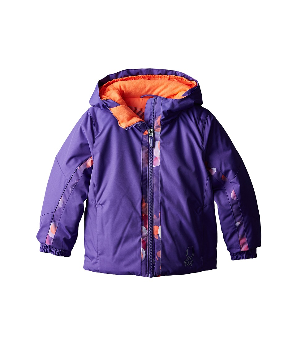 Spyder Kids - Bitsy Charm Jacket (Toddler/Little Kids/Big Kids) (Iris/Iris Multi-Loop) Girl's Coat