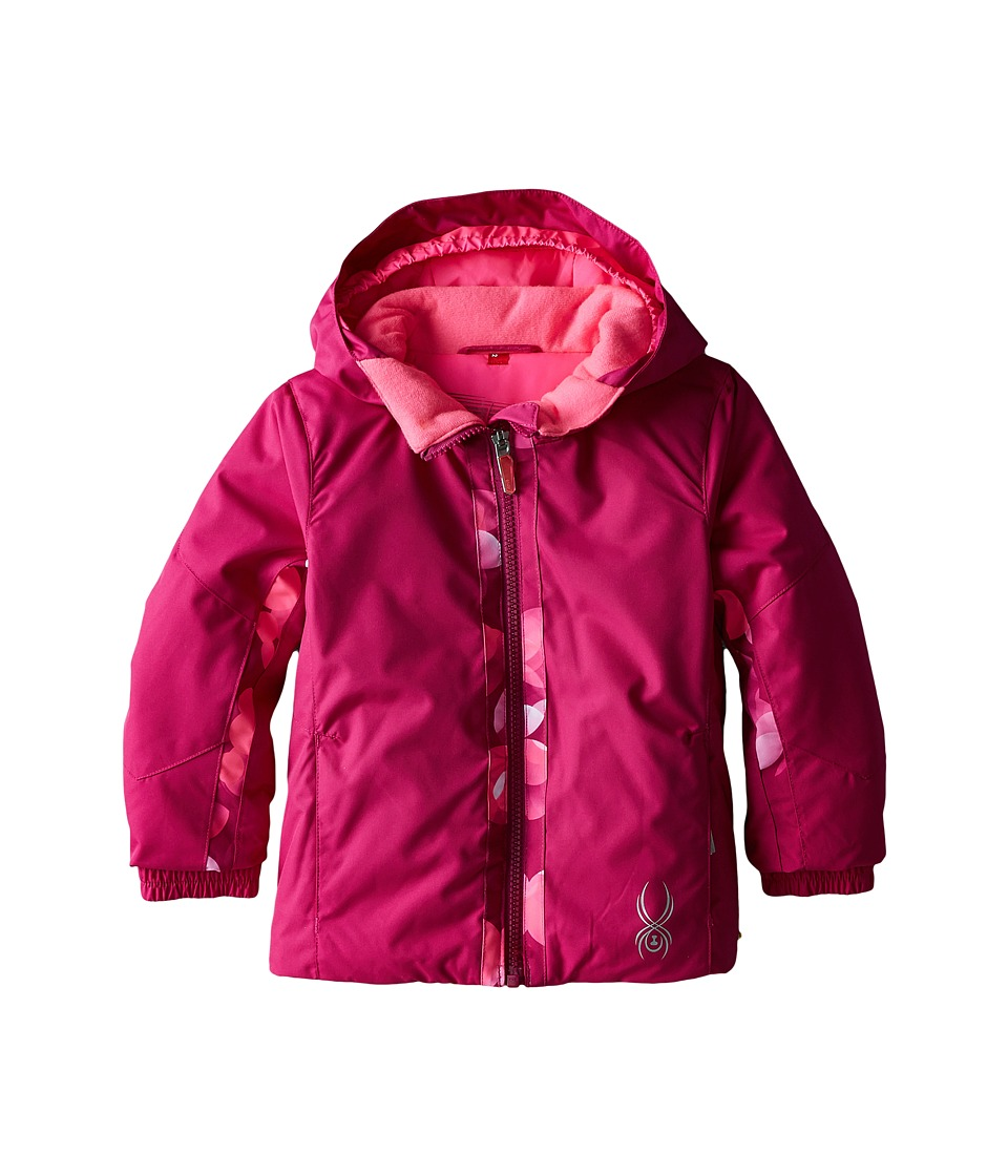 Spyder Kids - Bitsy Charm Jacket (Toddler/Little Kids/Big Kids) (Wild/Wild Focus) Girl's Coat