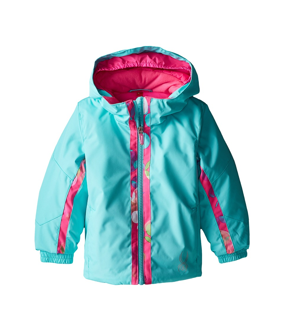 Spyder Kids - Bitsy Charm Jacket (Toddler/Little Kids/Big Kids) (Shatter/Bryte Bubblegum Focus) Girl's Coat
