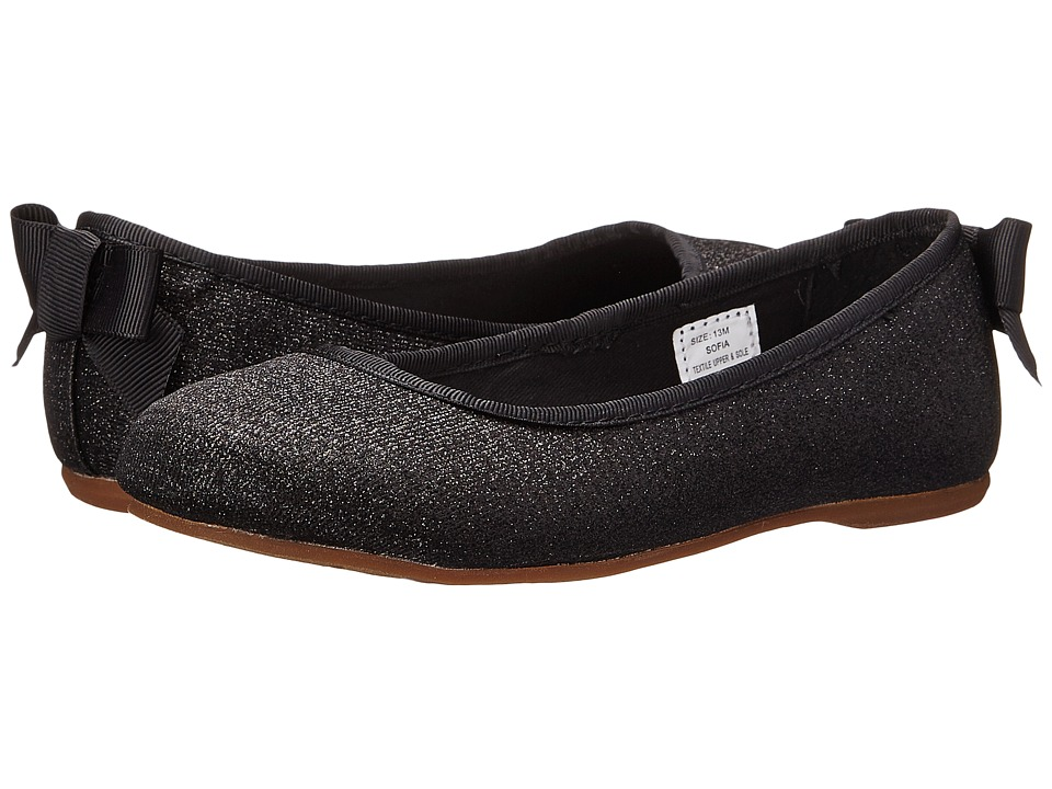 Hanna Andersson - Sofia (Toddler/Little Kid/Big Kid) (Black) Girls Shoes