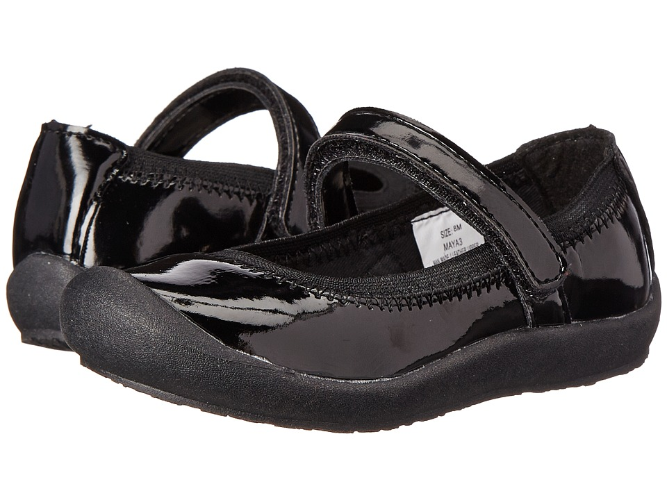 Hanna Andersson - Maya 3 (Toddler/Little Kid/Big Kid) (Black Patent) Girls Shoes