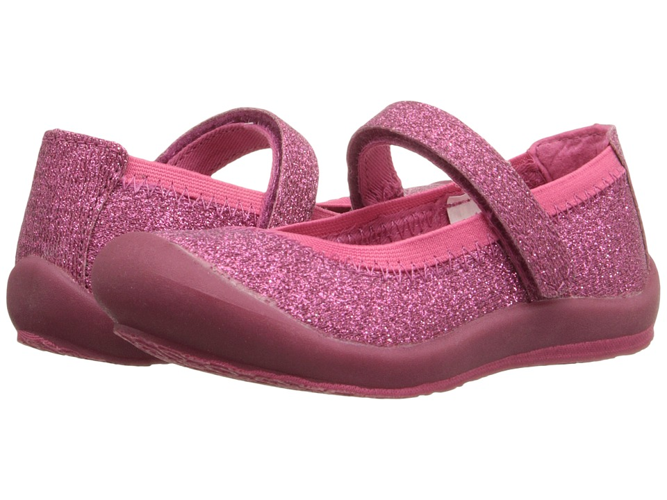 Hanna Andersson - Maya 3 (Toddler/Little Kid/Big Kid) (Macaroon Glitter) Girls Shoes