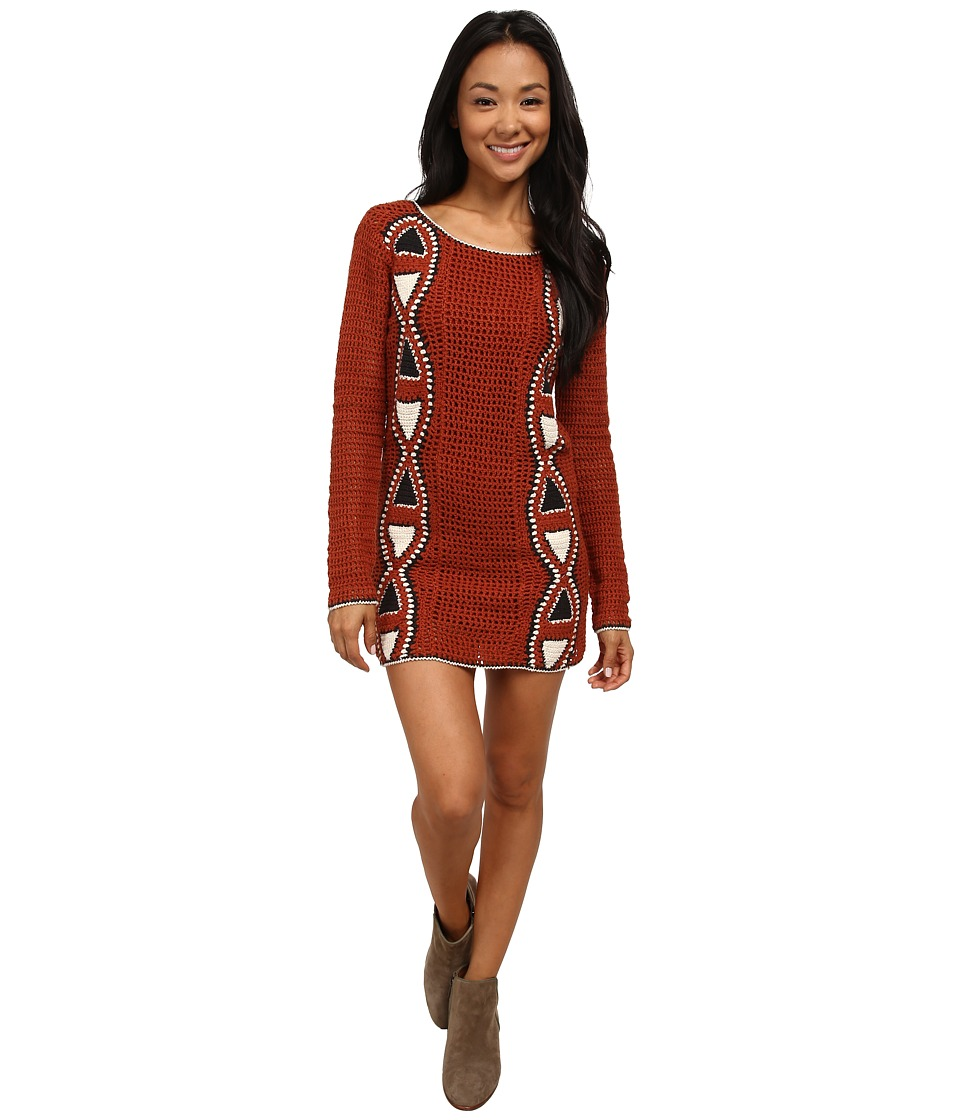 Volcom - Vibe Tribe Dress (Copper) Women's Dress
