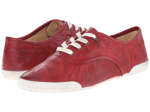 Frye - Melanie Low (Burnt Red) Women's Lace up casual Shoes