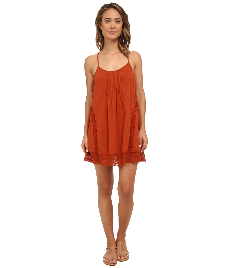 Volcom - Love Bound Dress (Copper) Women's Dress