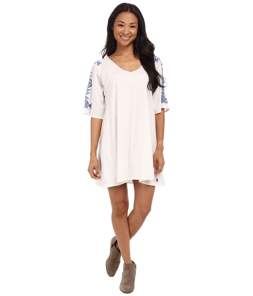 Volcom - Side Note Dress (Bone) Women's Dress