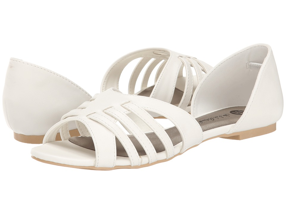 Michael Antonio - Pacer (White) Women's Flat Shoes