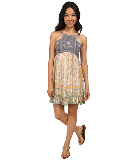 O'Neill - Anna Sui for O'Neill - Love Birds Printed Woven Dress (Multi) Women's Dress