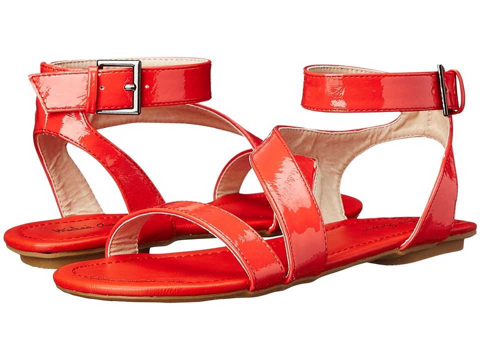 Michael Antonio - Darcy (Red) Women's Toe Open Shoes