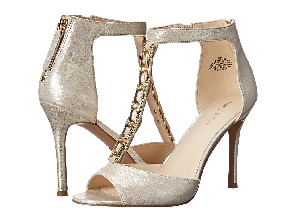 Nine West - Flair (Light Gold MT) High Heels