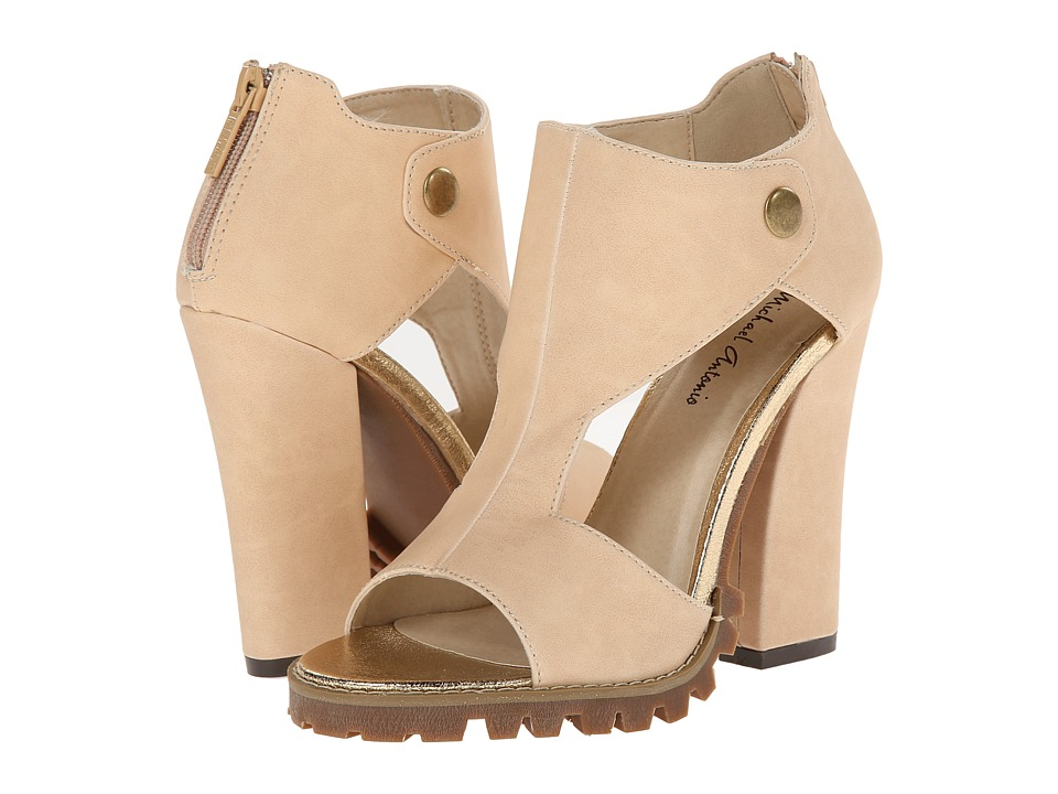 Michael Antonio - Knightley (Natural) Women's Dress Sandals