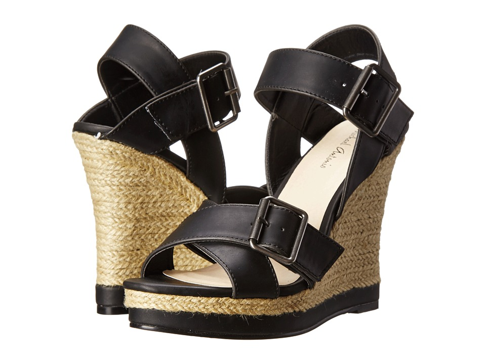 Michael Antonio - Gladwinn (Black) Women's Wedge Shoes