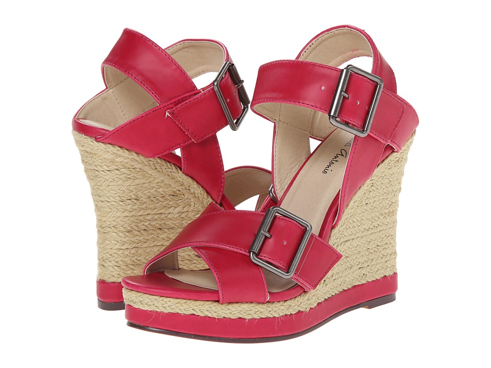 Michael Antonio - Gladwinn (Fuchsia) Women's Wedge Shoes