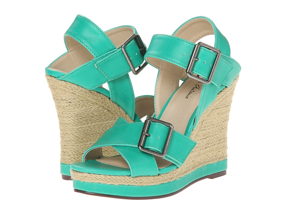 Michael Antonio - Gladwinn (Light Teal) Women's Wedge Shoes