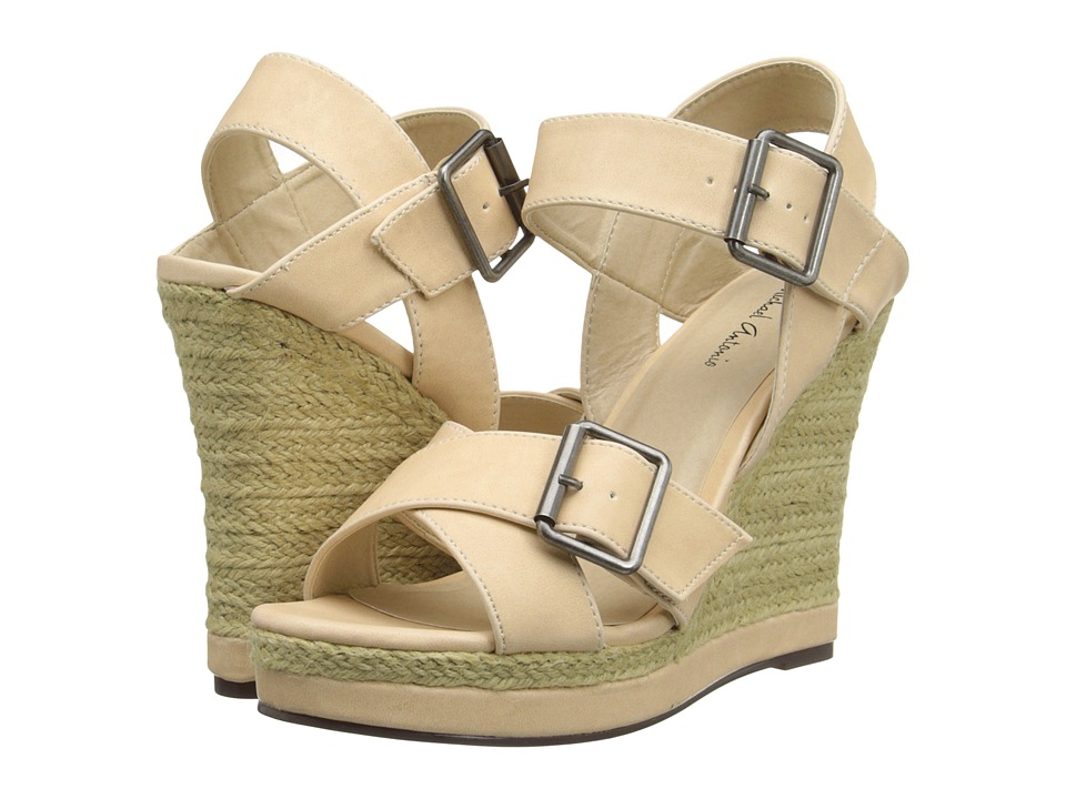 Michael Antonio - Gladwinn (Natural) Women's Wedge Shoes