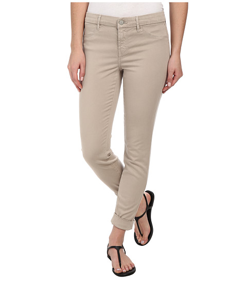 J Brand - Anja Cuffed Sateen Crop in Concrete Dust (Concrete Dust) Women