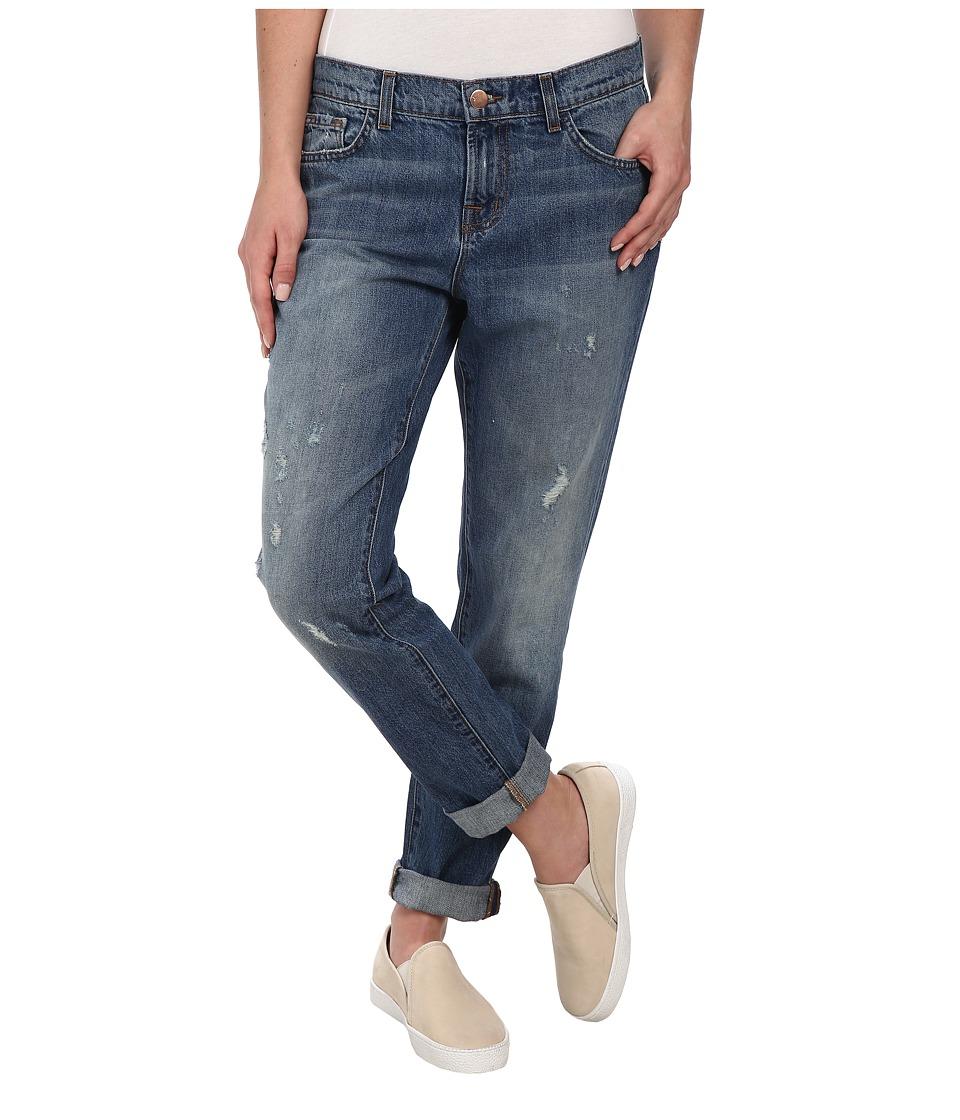 J Brand - Jake Slim Destructed Boyfriend in Broken (Broken) Women's Jeans