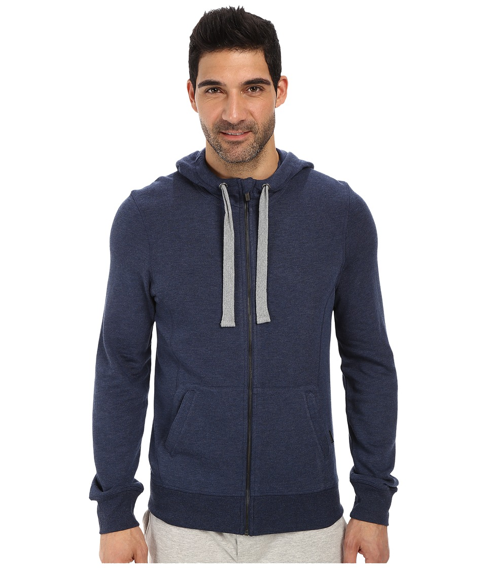 2(X)IST - Terry Hoodie (Denim Heather) Men's Sweatshirt