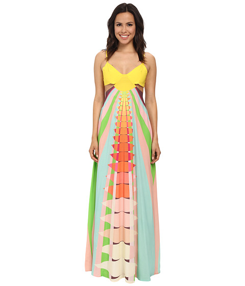 Mara Hoffman - Cutout Maxi Dress (Beams Yellow) Women's Dress