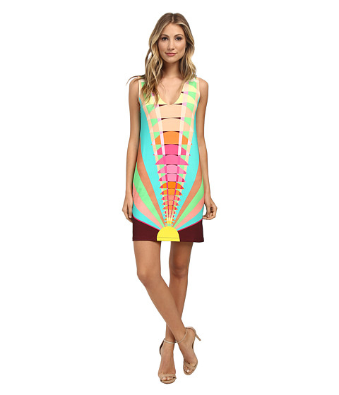 Mara Hoffman - Shift Dress (Beams Yellow) Women's Dress
