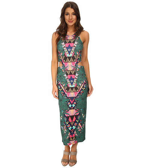 Mara Hoffman - Cutout Midi Dress (Maristar Green) Women