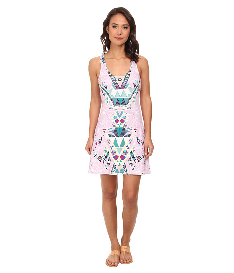 Mara Hoffman - Circle Dress (Maristar Lilac) Women's Dress