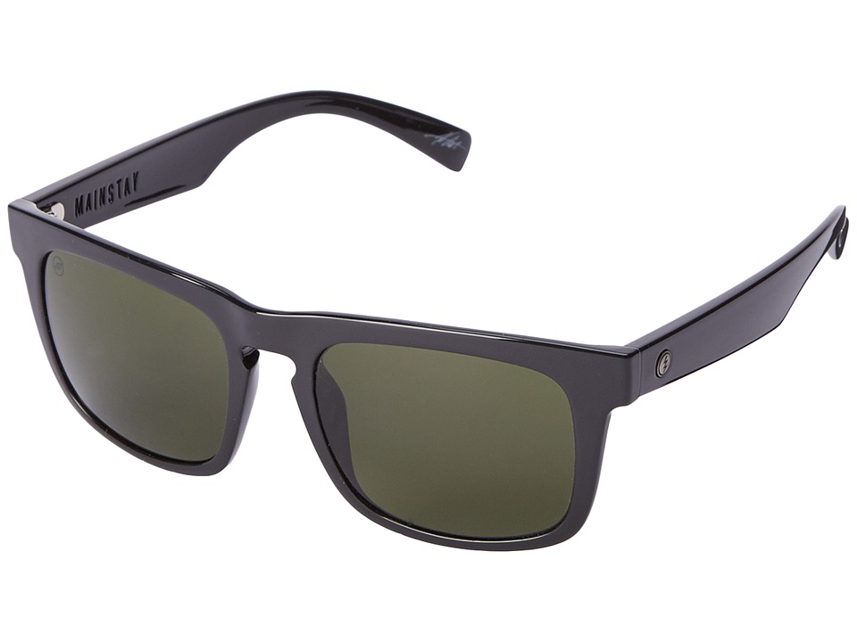Electric Eyewear - Mainstay (Gloss Black/M Grey) Sport Sunglasses